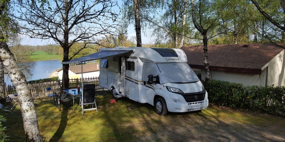 Camping-car camping St Hilaire
