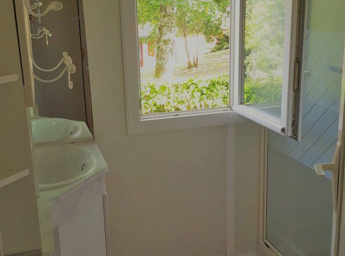Mobil-Home 46 Salle de bain