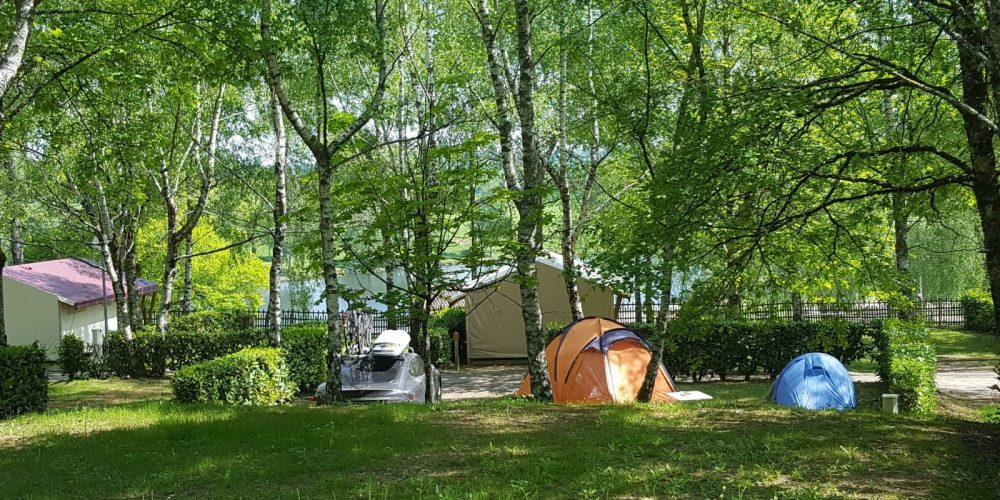 Camping l'Air du Lac emplacements