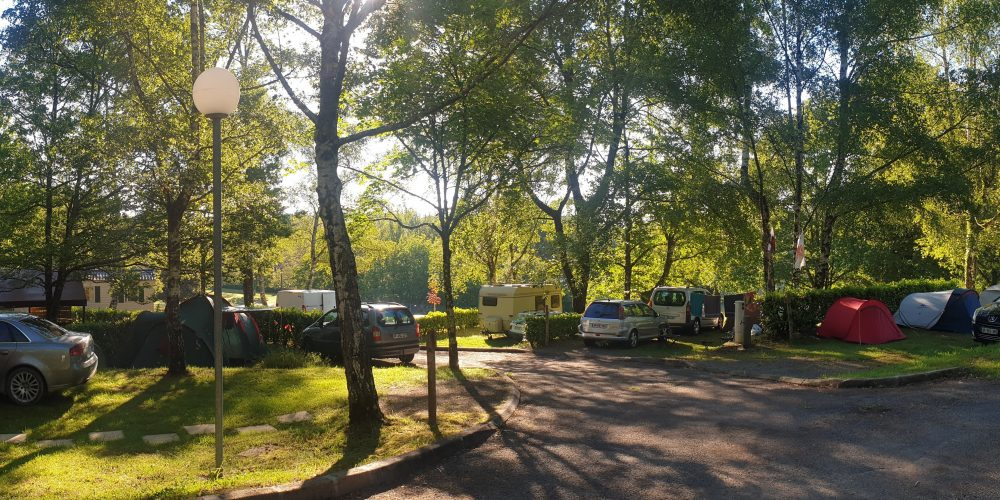 Camping l'Air du Lac emplacements 1