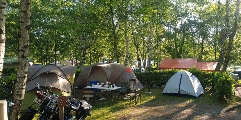 Camping l'Air du Lac emplacements 2