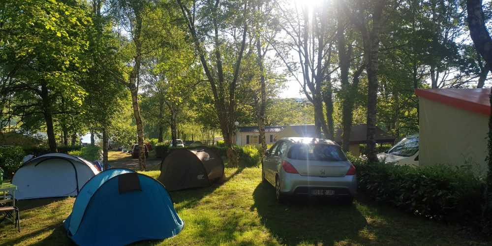 Camping l'Air du Lac emplacements 7