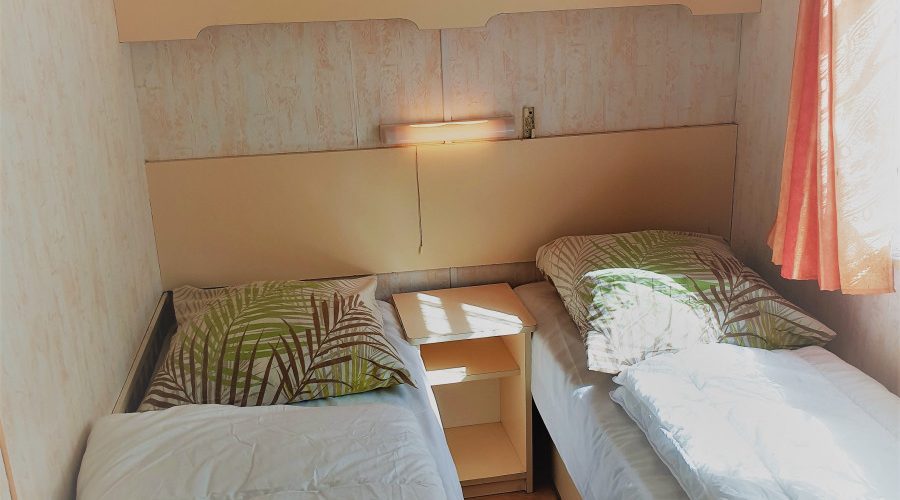 Mobil-home Vintage Chambre 3