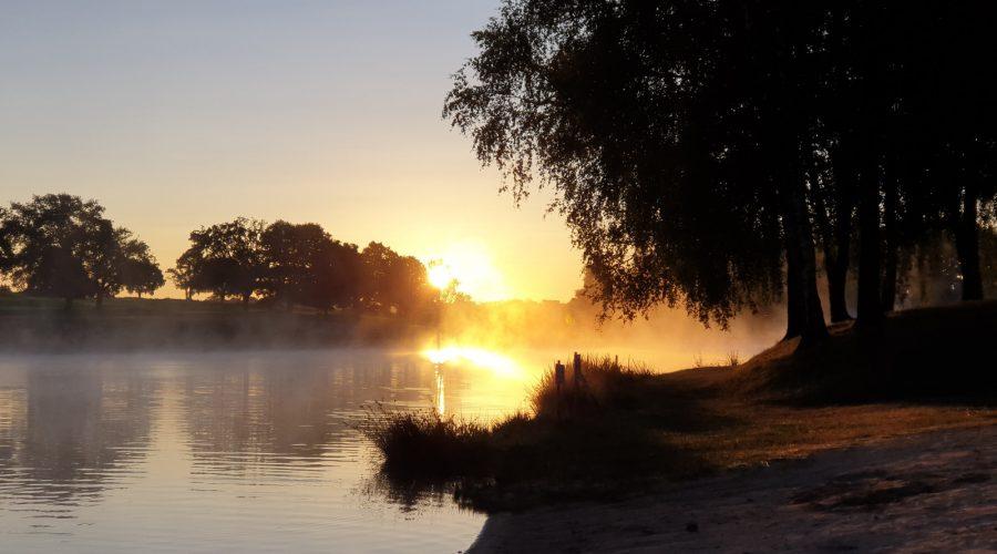 Brume sur le Lac Plaisance