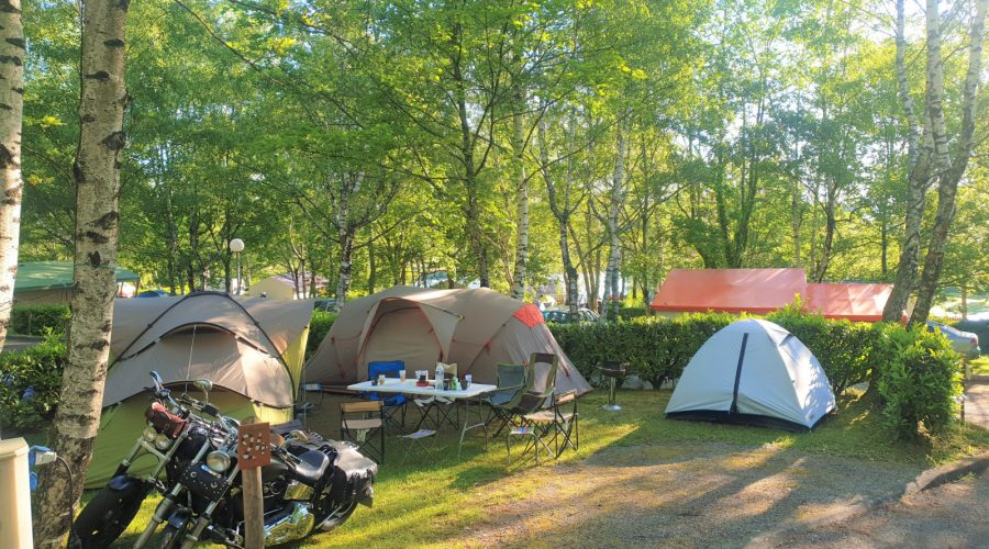 Camping l'Air du Lac emplacements 9
