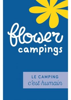 Flower Camping Le camping c'est humain